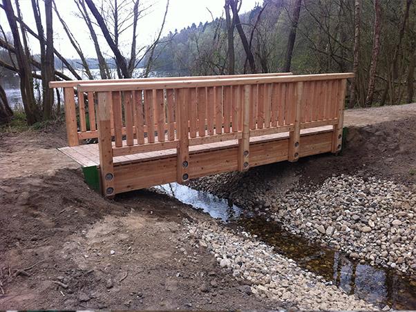 Brücke über die Molzahner Rinne